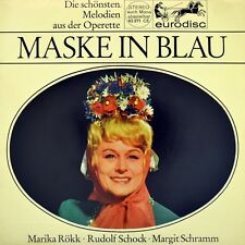 "7"" FRED RAYMOND Maske in Blau RUDOLF SCHOCK & MARIKA RÖKK Julischka aus Budapest"