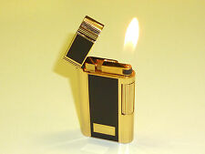 "ZIPPO contempo GAS LIGHTER - ""BASIC BLACK no. 715 Standard"" - 1985-OVP-Giappone"