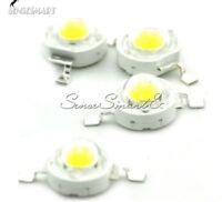 10/20/50/100PCS  1W Warm White SMD Circular LED Beads 100-110LM