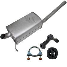 IMASAF Endschalldämpfer + Anbausatz für VW CADDY III 1.6 TDI + 2.0 TDI 75-170 PS