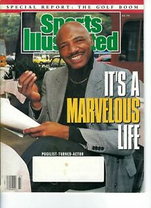 MARVIN HAGLER BOXING JULY 1990 SI MAGAZINE HAS LABEL #2