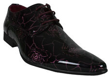 Men's Prom Dress Shoes Formal Oxford Casual Italian Lace Up Wedding Party New
