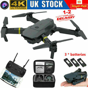 Drone RC Drones Pro 4K HD Camera GPS WIFI FPV Quadcopter Foldable Bag Gifts 2021