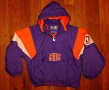 VTG Phoenix Suns Pullover Starter Windbreaker Jacket size M Purple 90s NBA