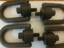 Hoist Rings, D-Rings #33614. 4000 pd. $125 for all 4