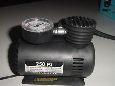New Mini 12 Volt 12v 250 PSI Air Compressor with Gauge