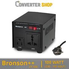 Bronson++ VT 100 Watt Transformateur / USA 110 Volt Converter / Convertisseur