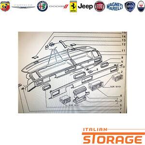 FIAT Tipo Armaturenbrett Coating Neu Original 181338980