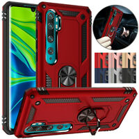 For Xiaomi Mi Note 10 Pro 10 Lite Magnetic Ring Holder Hybrid Armor Case Cover