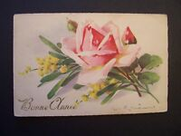CPA  / Illustrateur / C.KLEIN , Roses ( Bonne Année ) , TBE