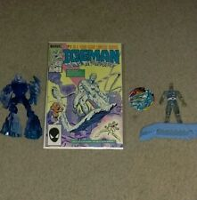 Iceman #1 (1984 series) pin-back button/action figures set 4