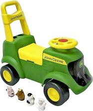 NEW JOHN DEERE 35206  SIT N SCOOT ATV WITH SOUNDS TRUCK TOY SALE