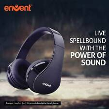 Envent Livefun 540 Wireless Bluetooth Headset With Mic(Black)