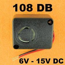 Super Loud Mini Alarm Piezo Siren Sound 6 - 15 VDC Honeywell Titan XT Compatible