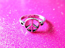 Peace Sign Ring Size 7