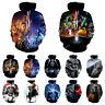 Star Wars 3D Print Hoodies Sweatshirt Men Women Casual Pullover Coat Tops
