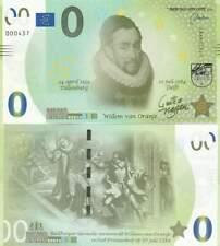 Biljet billet zero 0 Euro Memo - Willem van Oranje (006)