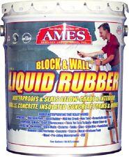 Ames BWRF5 5 Gallon Block & Wall Liquid Rubber Basement Waterproofing Coating