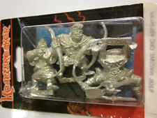 Heartbreaker Miniature #108: MASSIVE ORC ARCHERS (Three 28mm Figures)