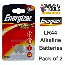 Energizer LR44 A76 Coin Alkaline Batteries Pack of 2 Batterys