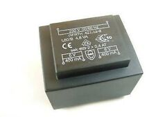 HAHN Miniatur-Printtrafo   0,5VA 230V 2x6V / 2x42 mA