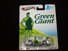 HW HOT WHEELS 2013 GENERAL MILLS GREEN GIANT HAULIN' GAS HOTWHEELS WHITE VHTF