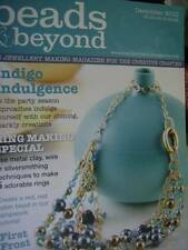 Beads & Beyond Magazine December 2010- 39 Projects, Ring Making Special, Indigo