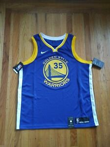 Kevin Durant NBA Jersey Golden State Warriors Nike Dri-fit Swingman Size 52  XL
