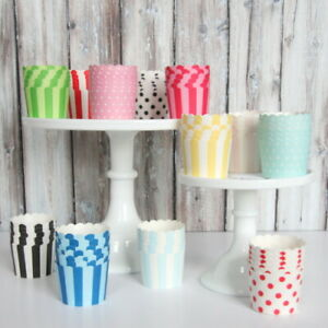 Paper Baking Cupcake Muffin cases Carnival Baby Shower Birthday Party