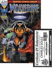 Return of Wolverine #1 MIDTOWN VARIANT signed Charles Soule MIDTOWN COA NM