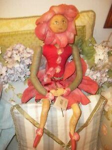 JOE SPENCER Gathered Traditions Gallerie II Rosie Flower Doll People