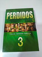 Perso Lost Stagione 3 Completa 7 DVD Regione 2 + Extra Spagnolo Inglese