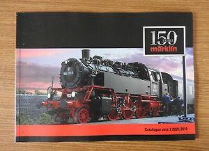Marklin Catalogue 150 ans 2009 / 2010 voie 1