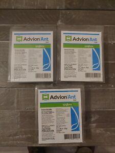 Syngenta Advion Ant Killer Gel Bait (Lot of 12) See photos! NEW