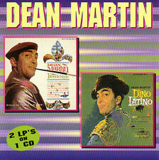 DEAN MARTIN - French Style/ Dino Latino - 2 LPs on 1 CD