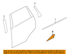 MITSUBISHI OEM 07-13 Outlander Exterior-Rear-Film Left 5228A013