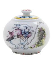 Paul Cardew  Design Alice in Wonderland Covered Sugar Bowl  NEW