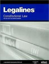 Legalines on Constitutional Law, 10th, Keyed to Choper