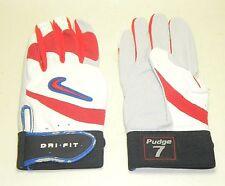 Nike Ivan Pudge Rodriguez Baseball Batting Gloves PE Player Issued Medium HOF