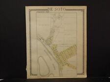 Wisconsin, crawford County Maps, Prairie Du Chein, 1930 Two Double Sided J4#01