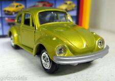 Gama 1/43 APPX Scale 1104 VW Kafer 1302 Beetle gold diecast model car