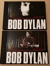 BOB DYLAN - 2 BOOKS LIMITED EDITION 2007 SPANISH PRESS - 4 DISK 48 PAGES EACH