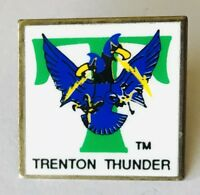 Trenton Thunder Baseball Team Pin Badge Rare Vintage (C15)