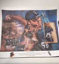 Chicago White Sox Mark Buehrle Perfect Game Poster | 16x20 | July 23 2009 | RARE