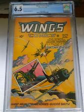 Wings Comics #72 CGC 6.5