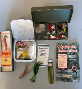 Vintage Weber Fly Fishing Collection
