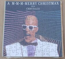 Rare Vintage A Merry Christmax From Chrysalis Records Puzzle New Max Headroom