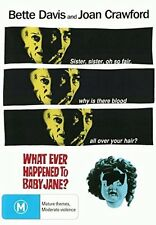 WHAT EVER HAPPENED TO BABY JANE? (English cover) -  DVD - UK Compatible - Sealed