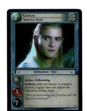 LORD OF THE RINGS LoTR  AE AGES END 19P7 LEGOLAS, Skeptical Guide CARD CCG