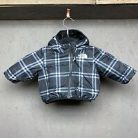 The North Face Infant Reversible Perrito Jacket - Size 0-3M - Black/White
